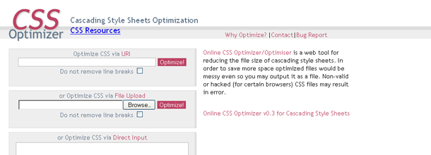 CSS Optimizer