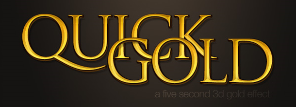6 Quick'n'Dirty Photoshop Text Effects From Scratch