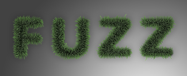 Fuzz/Furry Text Effect (Works great as Grass!)