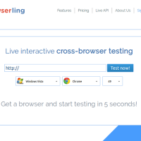 Browserling – Live interactive cross-browser testing