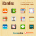 iCandies Icon Set: 60 Free Icons For Your User Interfaces and Apps
